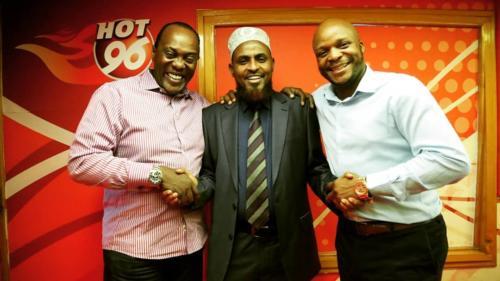 Jeff and Jalas with Abduba Dida